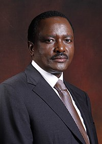 Stephen Kalonzo Musyoka (born 24 December 1953) is a Kenyan politician who was the tenth Vice-President of Kenya