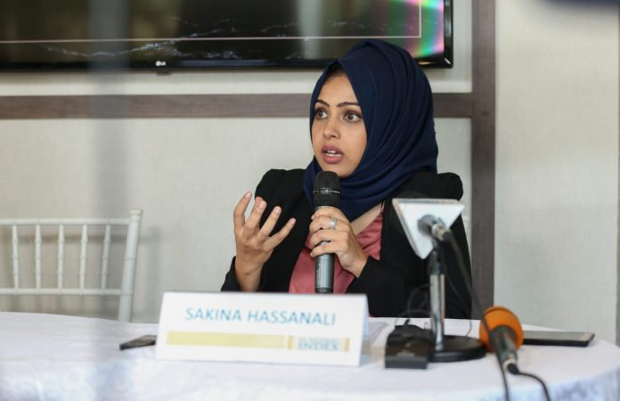 Sakina Hassanali, Head of Development Consulting and Research at Hass Consult.