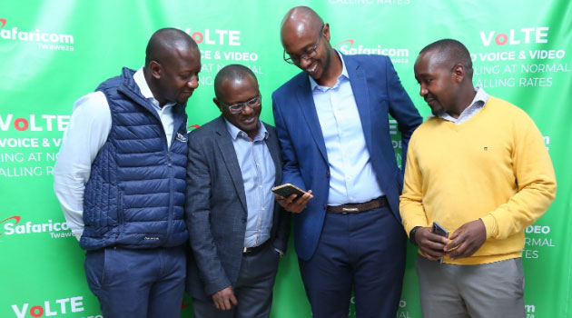 Safaricom Limited has announced the introduction of Voice over LTE (VolTE), a technology that brings high-quality sound and video across the 4G network. Image Safaricom