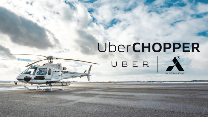 Uber to Offer Helicopter Rides Starting in July IMAGE/Courtesy