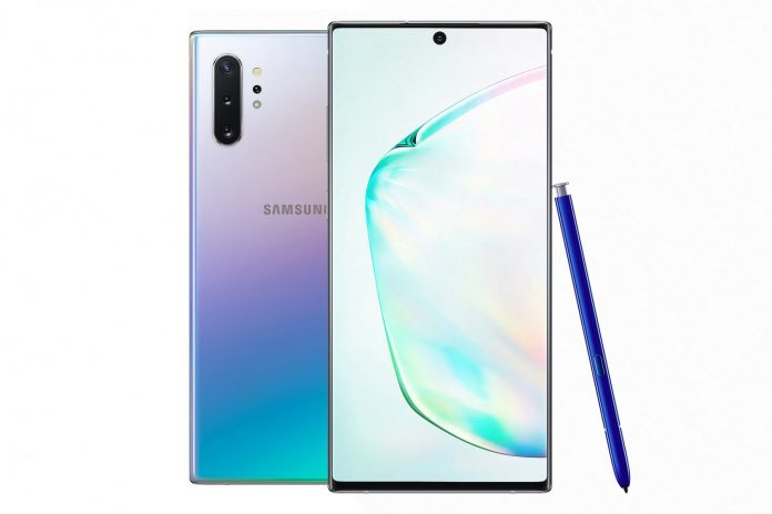 Samsung's Galaxy Note 10 includes big all-screen display, a hole-punch camera, and no 3.5mm jack