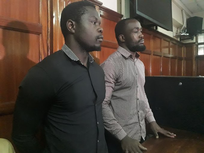 Two rugby players, Frank Wanyama and Alex Olaba Mahaga, Handed 15 years in prison each for gang rape.