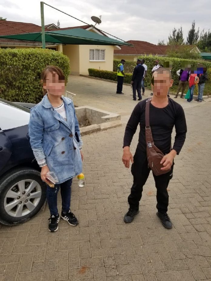 TWO CHINESE Nationals arrested with 800L of Methanol & over 3000L of CHANG'AA & BUSAA in Machakos