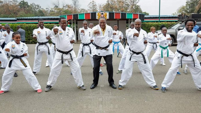 Uhuru Kenyatta assures to harness sporting talents from the grassroots