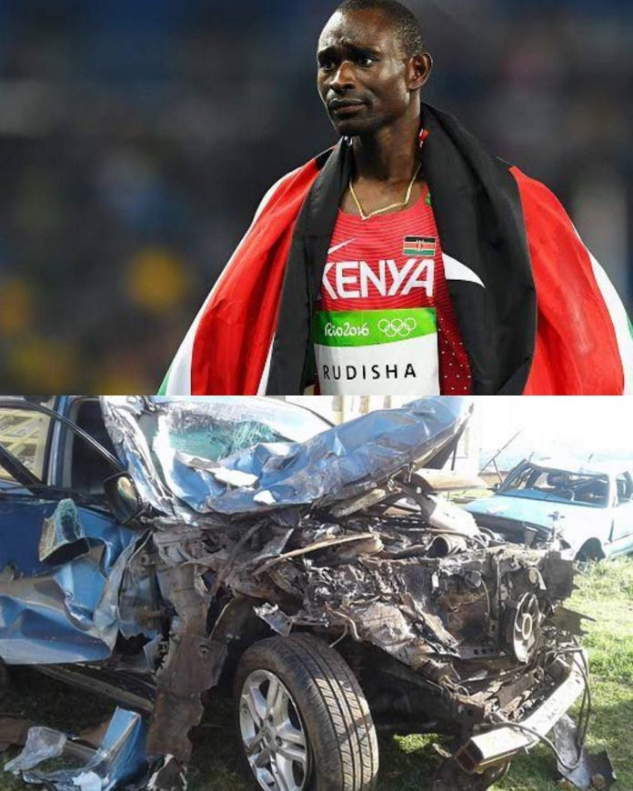 David Rudisha escapes death in Grisly Road Crash