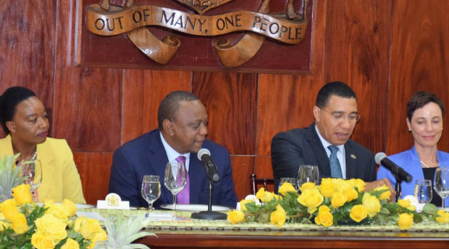 Kenya and Jamaica have pledged to deepen bilateral and people-to-people ties for the benefit of the two countries.