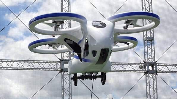 Nec Unveils🎊 Flying Car Prototype In Japan
