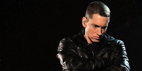 Eminem, AKA Marshall Mathers, AKA Slim Shady, is an American rapper, originally from Missouri.