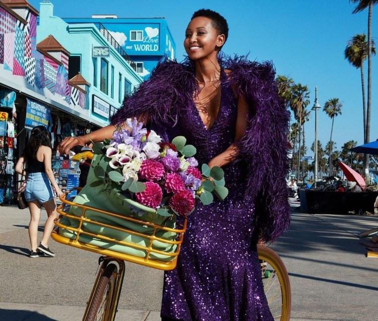 Huddah Monroe Features On American Fashion Magazine, Harper's Bazaar As KOT Bash Kamene For Dissing Her