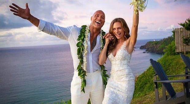 Dwayne 'The Rock' Johnson marries Lauren Hashian _ Image Courtesy