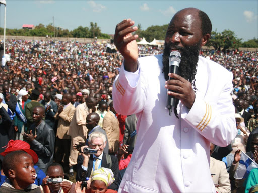 Prophet David Owuor, Joseph Gitonga, was ex-communicated on Sunday from the Ministry of Repentance and Holiness. - Image Courtesy