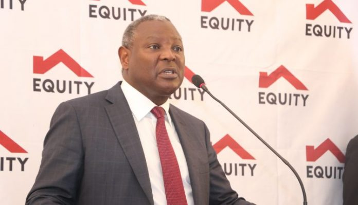 Equity Group Managing Director and CEO Dr James Mwangi