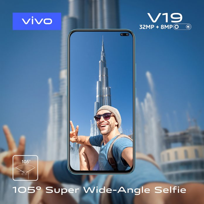 Dual Punch Hole Camera Phone vivo V19 Launched in Kenya