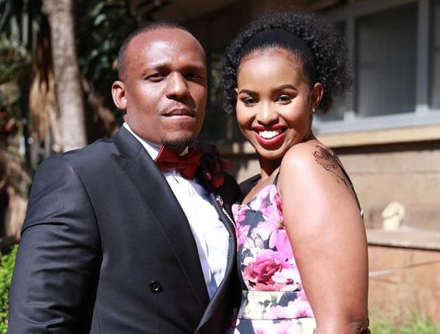 Ben Kitili and wife Amina Mude