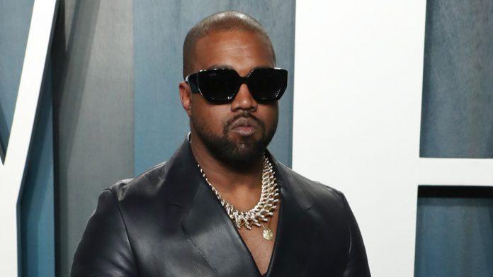 Mandatory Credit: Photo by Matt Baron/Shutterstock (10552971pt) Kanye West Vanity Fair Oscar Party, Arrivals, Los Angeles, USA - 09 Feb 2020 Wearing Dunhill