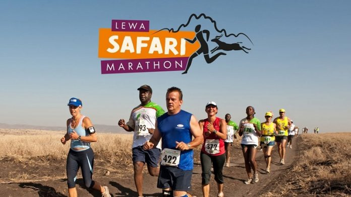 Huawei Kenya and Lewa Virtual Marathon campaign