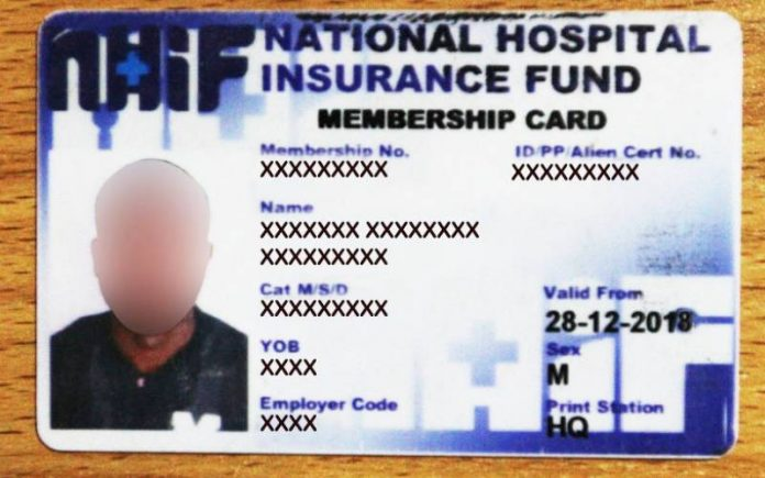 How to replace your NHIF card