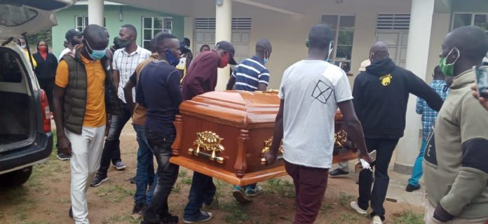 Photos of Lady Maureen's funeral