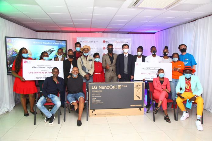LG Electronics crowns winners of the #NanoNiNoma Competition